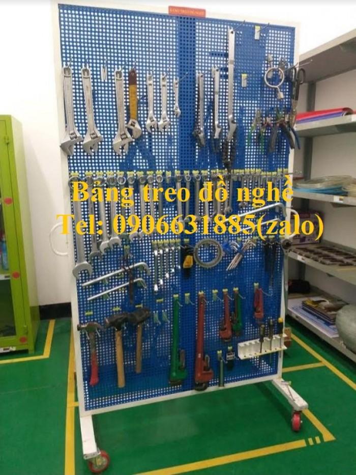 Giá treo đồ sửa chữa xe, giá treo dụng cụ, bảng treo đồ nghề1