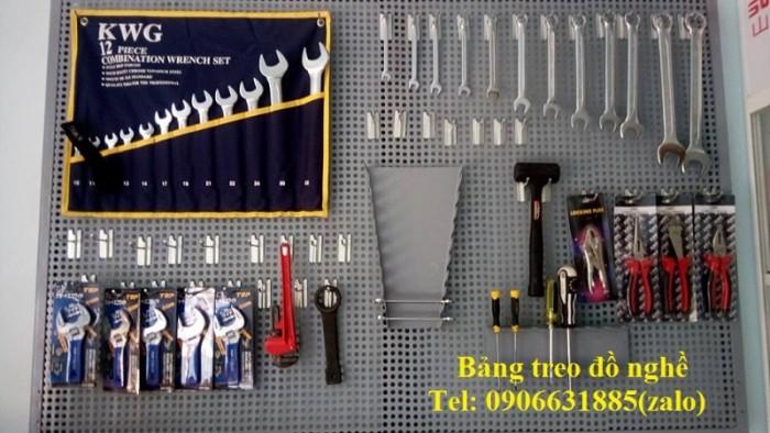 Giá treo đồ sửa chữa xe, giá treo dụng cụ, bảng treo đồ nghề14