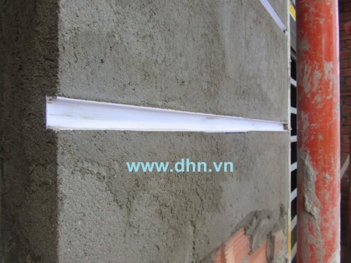 Nẹp ron âm - Nẹp cắt chỉ âm  - Nẹp cắt ron - Nẹp tạo chỉ âm tường - Nẹp nhựa3
