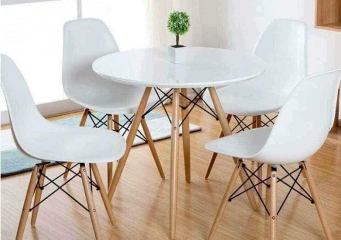 Bàn ghế mật nhựa chân gổ làm tại xưởng sản xuất 987860