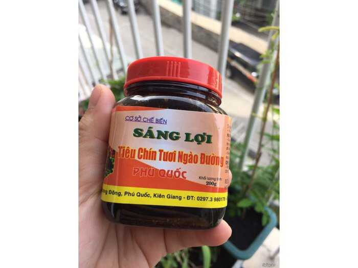 Tiêu ngào đường Sáng Lợi đặc sản Phú Quốc hủ 200g0