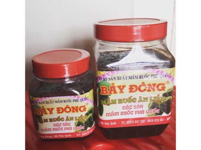 Mắm ruốc Bảy Đông đặc sản Phú Quốc hủ 400g0