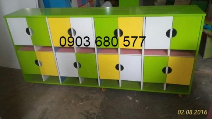Chuyên bán tủ gỗ, tủ nhựa dành cho trường mầm non, lớp mẫu giáo, gia đình0