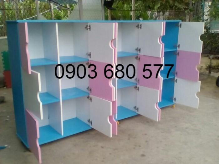 Chuyên bán tủ gỗ, tủ nhựa dành cho trường mầm non, lớp mẫu giáo, gia đình3