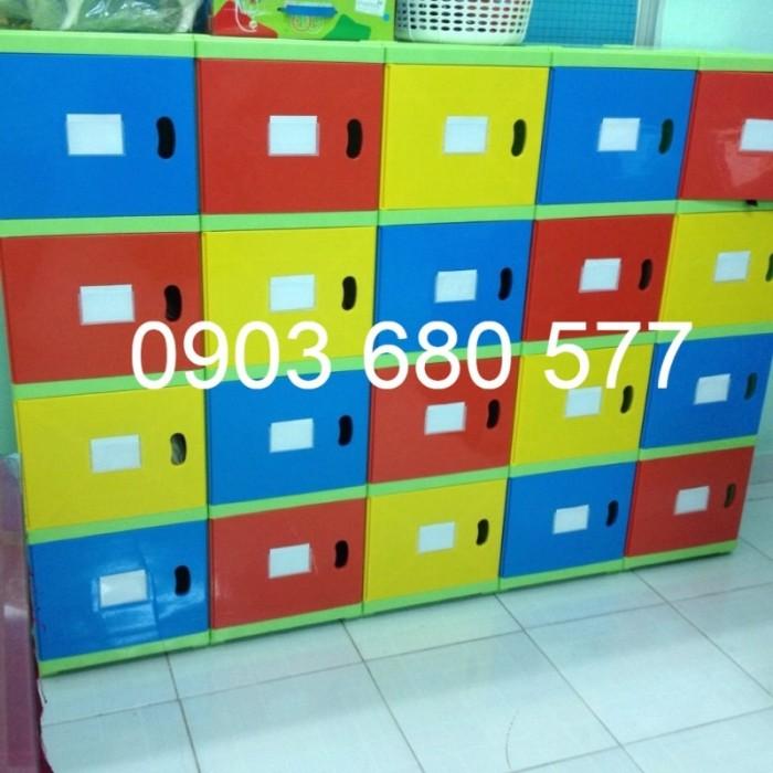 Chuyên bán tủ gỗ, tủ nhựa dành cho trường mầm non, lớp mẫu giáo, gia đình23