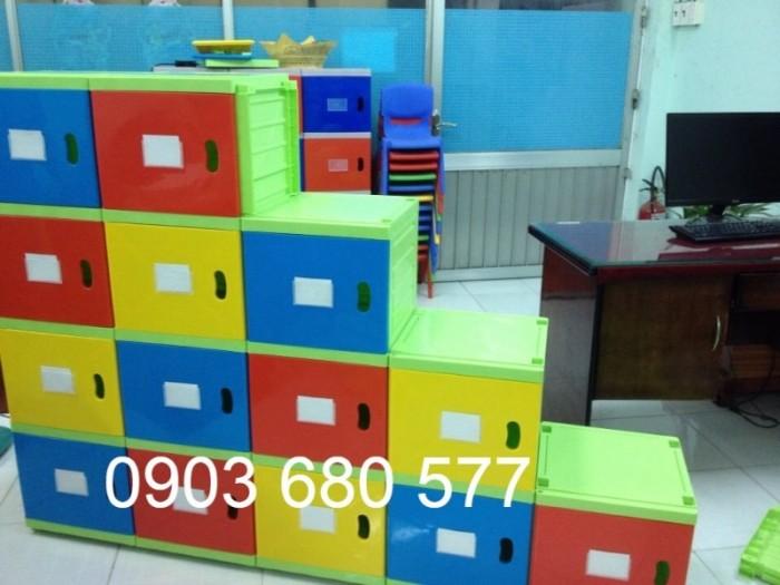 Chuyên bán tủ gỗ, tủ nhựa dành cho trường mầm non, lớp mẫu giáo, gia đình9