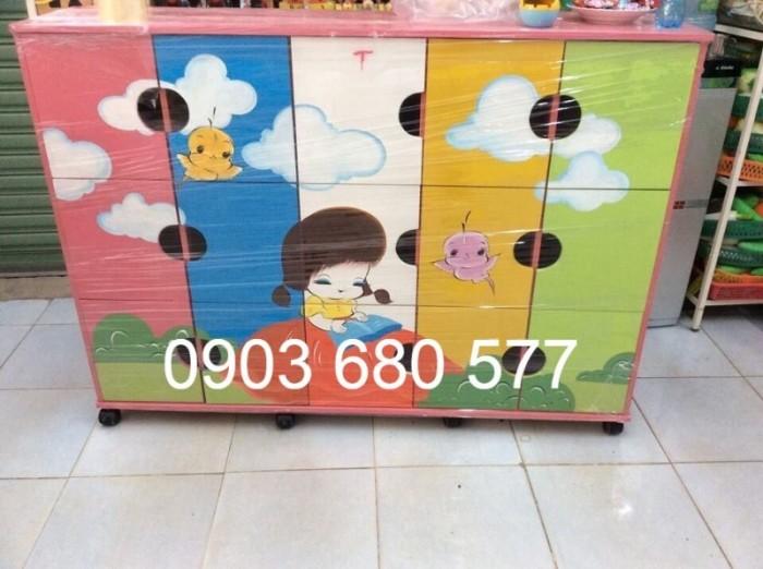 Chuyên bán tủ gỗ, tủ nhựa dành cho trường mầm non, lớp mẫu giáo, gia đình11