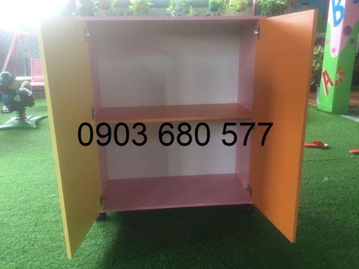 Chuyên bán tủ gỗ, tủ nhựa dành cho trường mầm non, lớp mẫu giáo, gia đình14
