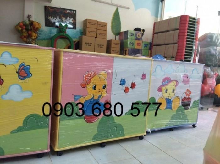 Chuyên bán tủ gỗ, tủ nhựa dành cho trường mầm non, lớp mẫu giáo, gia đình13