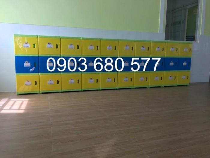 Chuyên bán tủ gỗ, tủ nhựa dành cho trường mầm non, lớp mẫu giáo, gia đình17