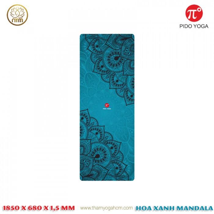 Thảm Du Lịch Cao Cấp PIDO 1,5 mm_Xanh India0