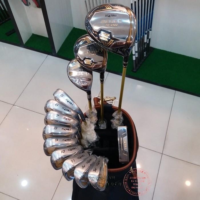 Bộ gậy golf Honma 3 sao S-06 chính hãng0
