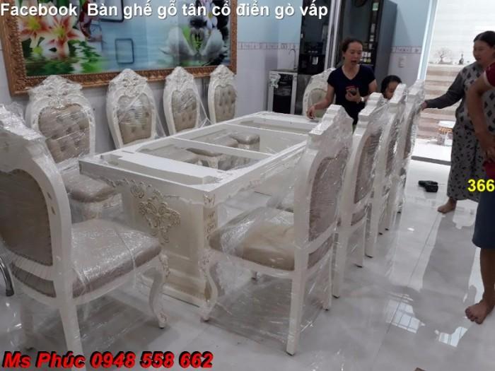 bàn ăn phong cách cổ điển q2, q715