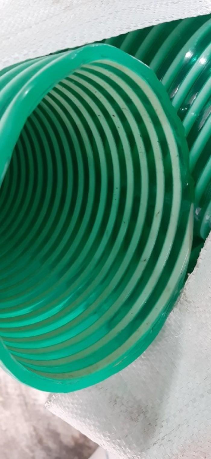 Phân phối toàn quốc ống cổ trâu gân nhựa dẫn hạt nhựa - bụi khí - nhiệt - cát - bùn - nưới  ( chất liệu PVc0