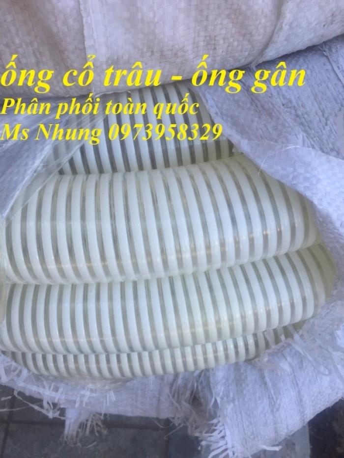 Phân phối toàn quốc ống cổ trâu gân nhựa dẫn hạt nhựa - bụi khí - nhiệt - cát - bùn - nưới  ( chất liệu PVc2