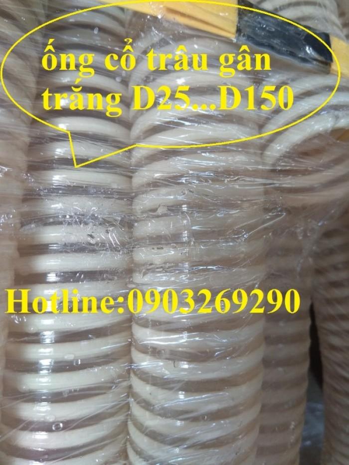 Phân phối toàn quốc ống cổ trâu gân nhựa dẫn hạt nhựa - bụi khí - nhiệt - cát - bùn - nưới  ( chất liệu PVc7