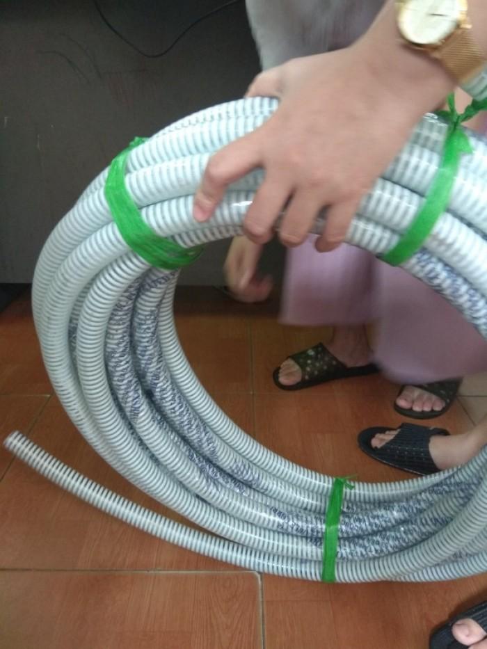 Phân phối toàn quốc ống cổ trâu gân nhựa dẫn hạt nhựa - bụi khí - nhiệt - cát - bùn - nưới  ( chất liệu PVc8