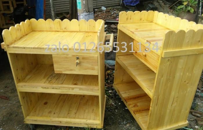 Quầy gỗ bán cà phê3