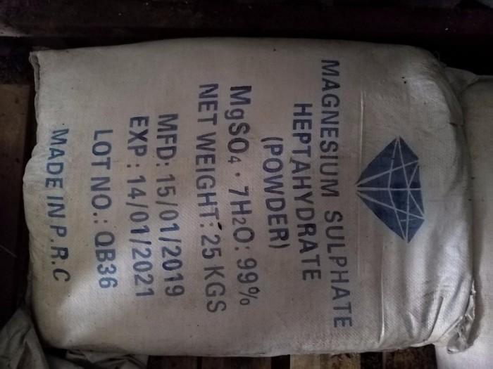 MGSO4.7H20 SẤY CỰC KHÔ, Nguyên liệu, phụ gia để trộn hàng bột khô phân bón.0