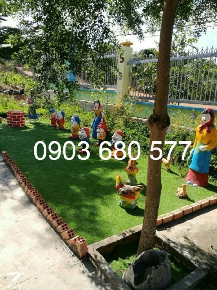 Chuyên nhận thi công vườn cổ tích trẻ em cho trường mầm non10