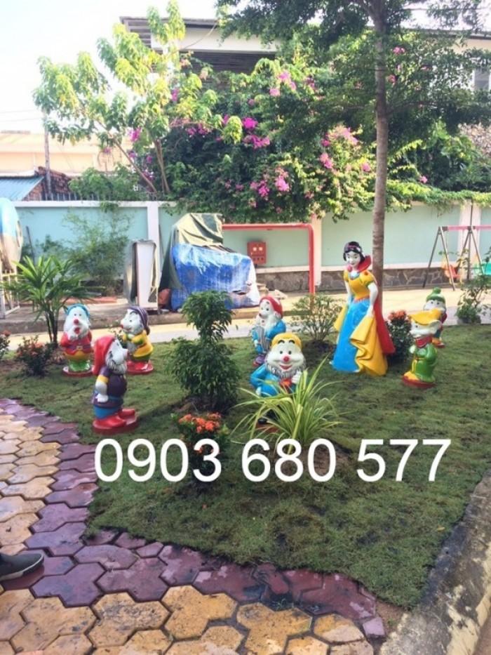 Chuyên nhận thi công vườn cổ tích trẻ em cho trường mầm non17