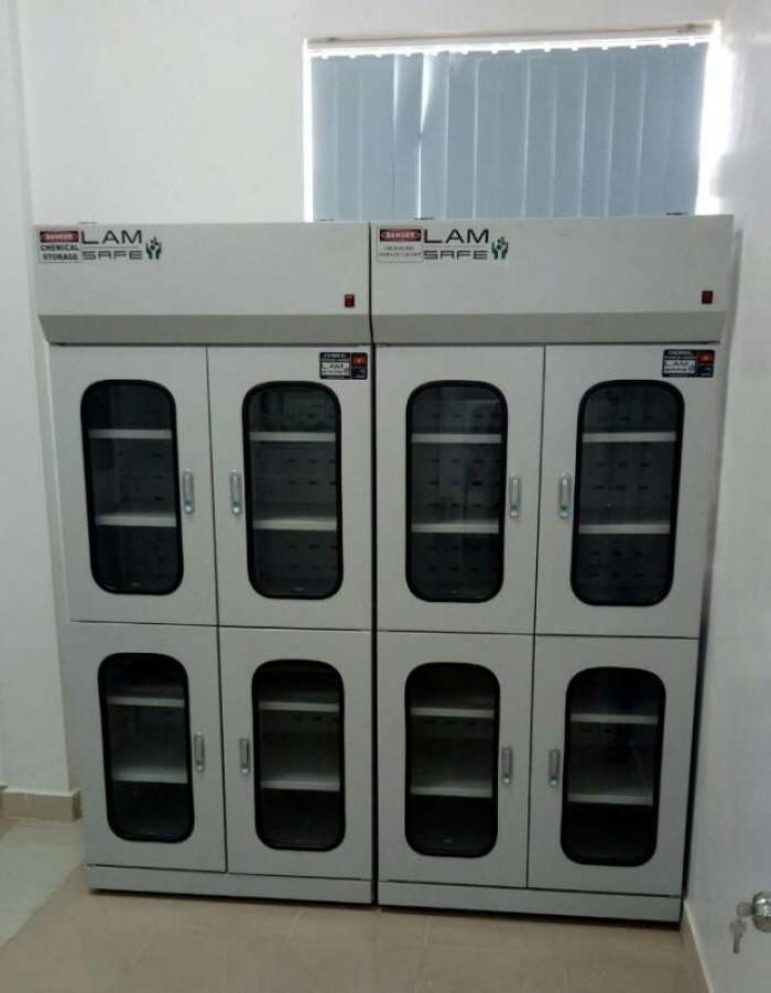 Tủ chứa hóa chất có lọc hấp thu LV-CS 1200 N (Lâm Việt - Việt Nam)3