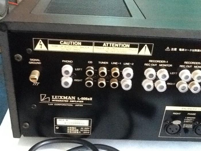 Bán chuyên Ampli LUXMAN L505SII hàng bãi đẹp ,về .3