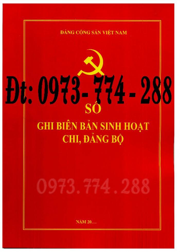 Bán Sổ họp chi bộ giá rẻ chất lượng uy tín tại Hà Nội2