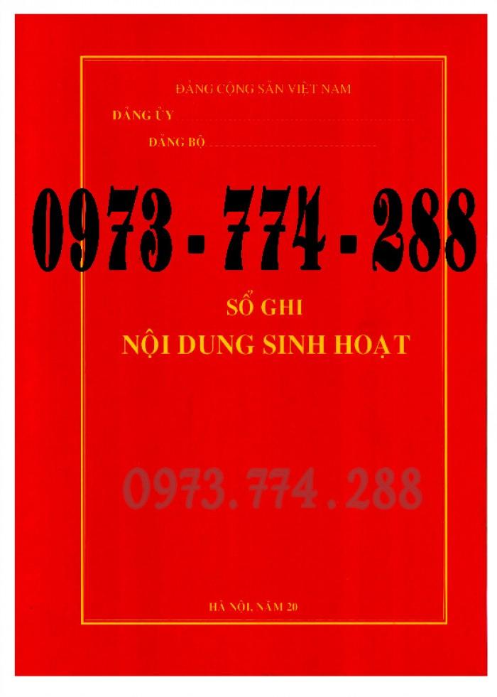 Bán Sổ họp chi bộ giá rẻ chất lượng uy tín tại Hà Nội3