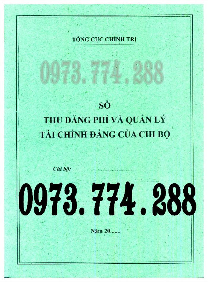 Bán Sổ họp chi bộ giá rẻ chất lượng uy tín tại Hà Nội24