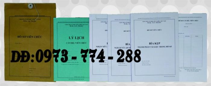 Trọn bộ biểu mẫu quản lý hồ sơ viên chức - Thông tư 07/2019/TT-BNV1