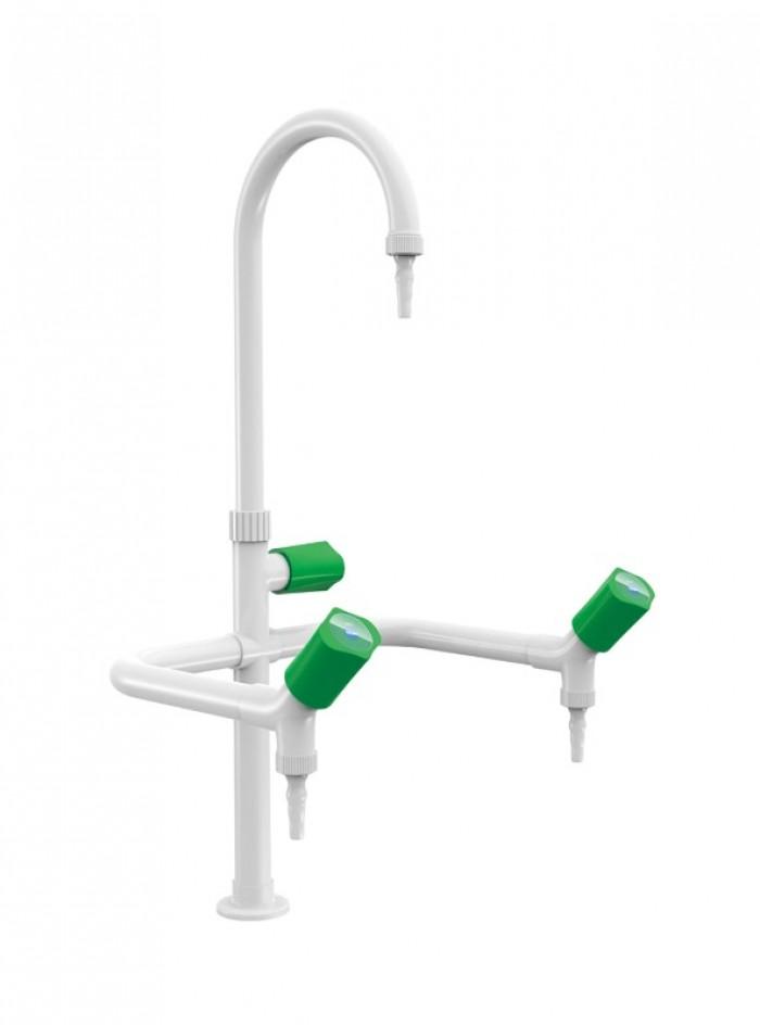 Vòi rửa thí nghiệm 1-2-3 nhánh Tofkeen - Hàng có sẵn1