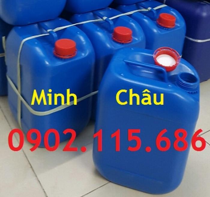 Can đựng hóa chất 10L, can đựng hóa chất nặng, can nhựa HDPE nguyên sinh,4