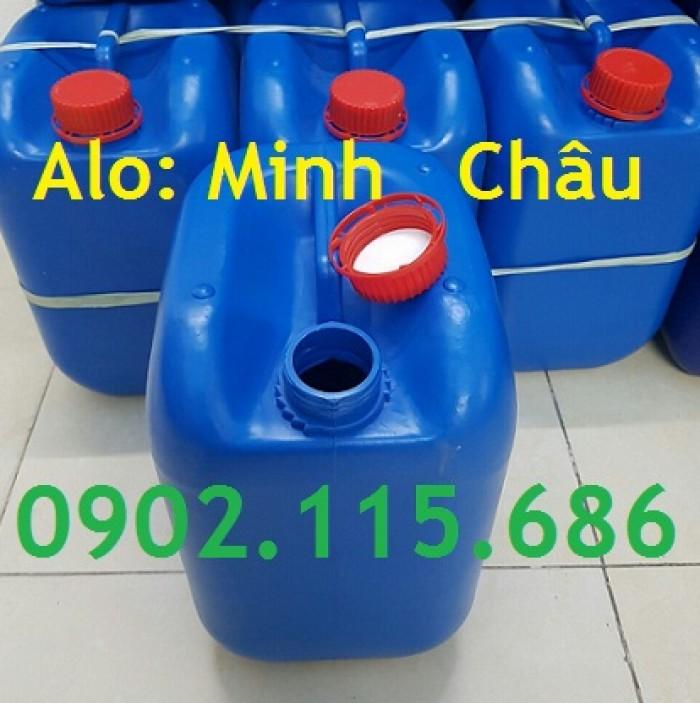 Can đựng hóa chất 10L, can đựng hóa chất nặng, can nhựa HDPE nguyên sinh,2
