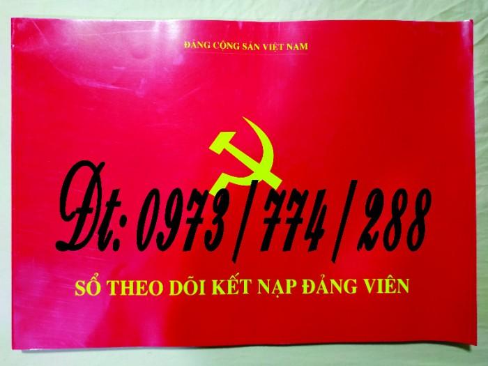 Sổ theo dõi kết nạp đảng viên, giá rẻ - chất lượng - uy tín tại Hà Nội0