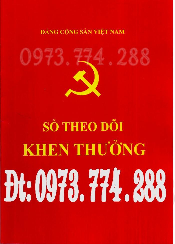 Sổ theo dõi kết nạp đảng viên, giá rẻ - chất lượng - uy tín tại Hà Nội1