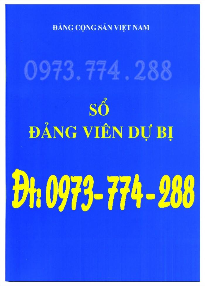 Sổ theo dõi kết nạp đảng viên, giá rẻ - chất lượng - uy tín tại Hà Nội3