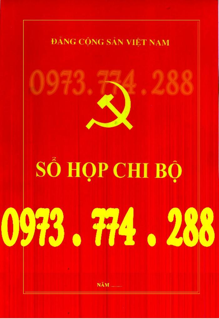 Sổ theo dõi kết nạp đảng viên, giá rẻ - chất lượng - uy tín tại Hà Nội5