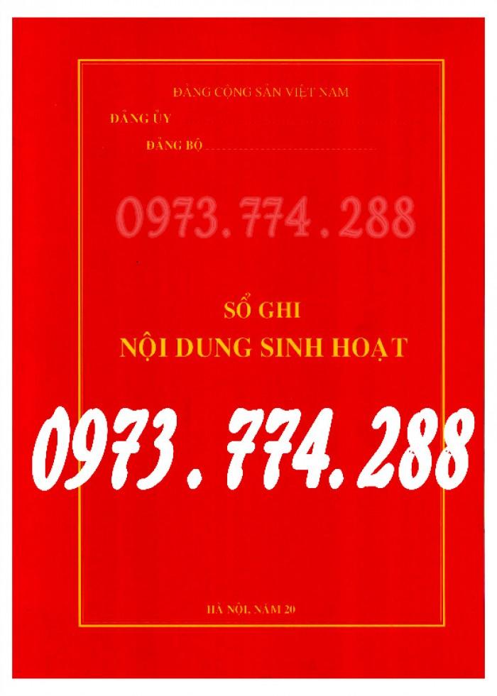 Sổ theo dõi kết nạp đảng viên, giá rẻ - chất lượng - uy tín tại Hà Nội8