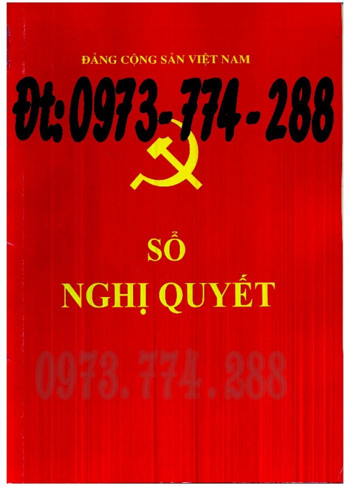 Sổ theo dõi kết nạp đảng viên, giá rẻ - chất lượng - uy tín tại Hà Nội10