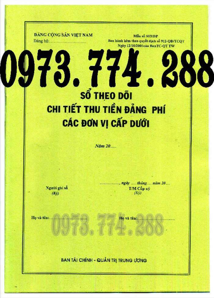 Sổ theo dõi kết nạp đảng viên, giá rẻ - chất lượng - uy tín tại Hà Nội19
