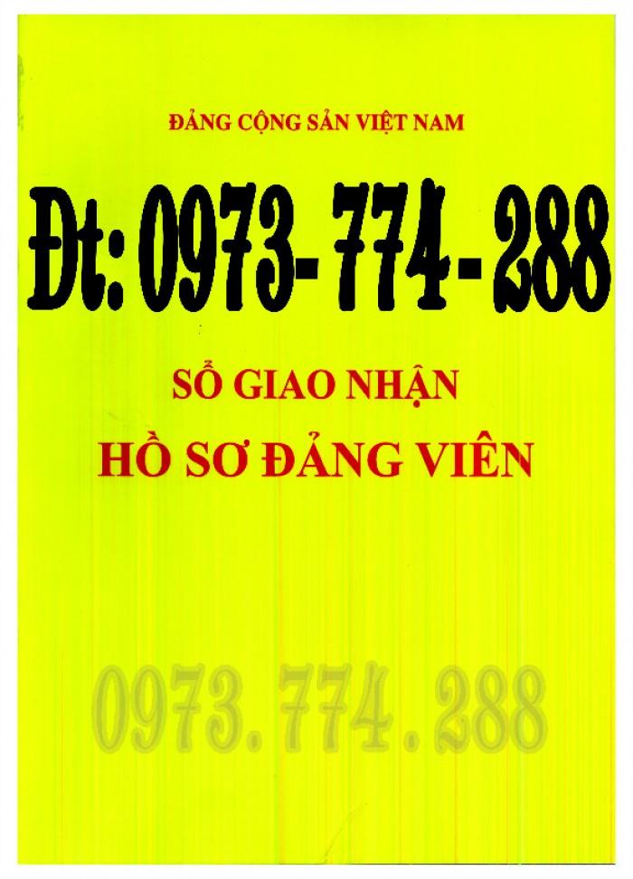 Sổ Đảng viên dự bị, giá rẻ, chất lượng, uy tín tại Hà Nội1