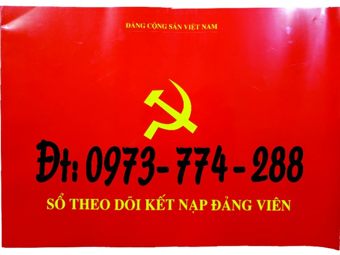 Sổ Đảng viên dự bị, giá rẻ, chất lượng, uy tín tại Hà Nội3