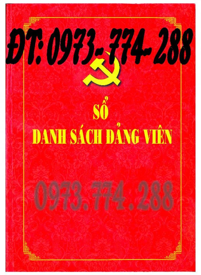Sổ Đảng viên dự bị, giá rẻ, chất lượng, uy tín tại Hà Nội10