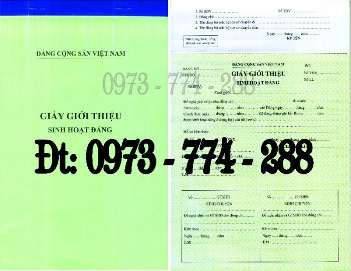 Sổ Đảng viên dự bị, giá rẻ, chất lượng, uy tín tại Hà Nội11