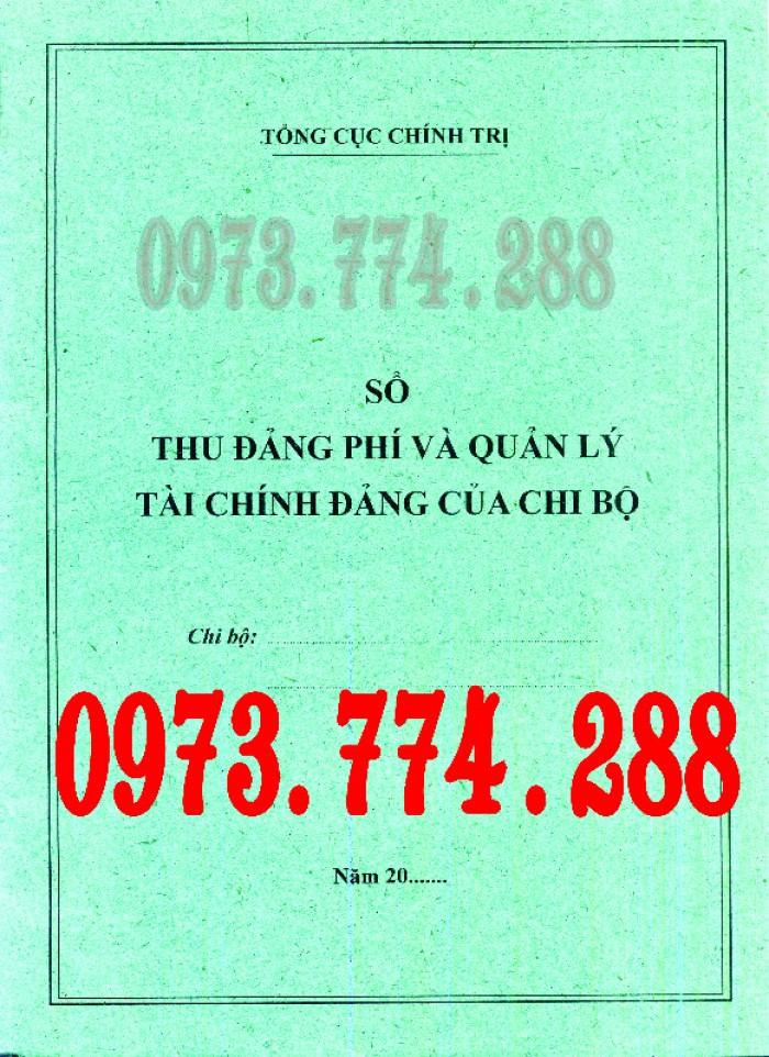 Sổ Đảng viên dự bị, giá rẻ, chất lượng, uy tín tại Hà Nội16
