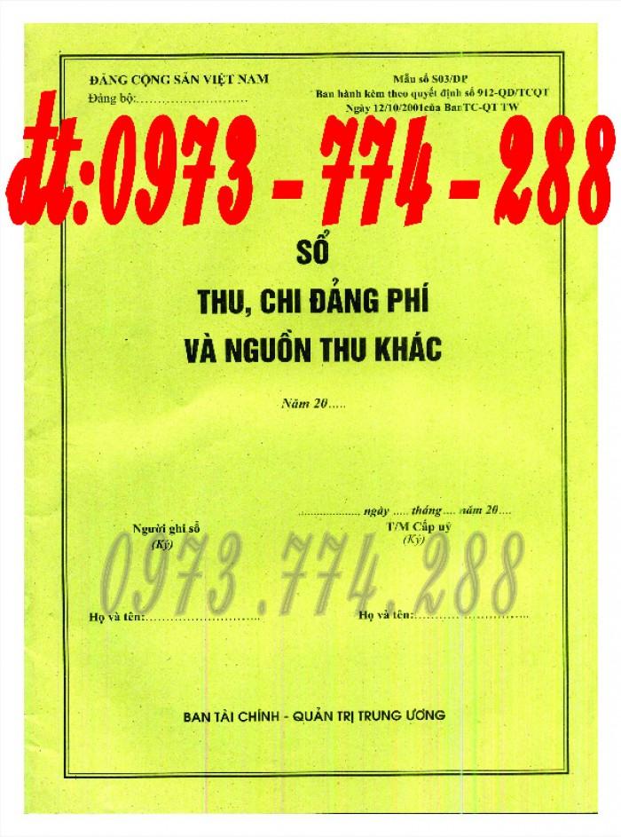 Sổ Đảng viên dự bị, giá rẻ, chất lượng, uy tín tại Hà Nội20
