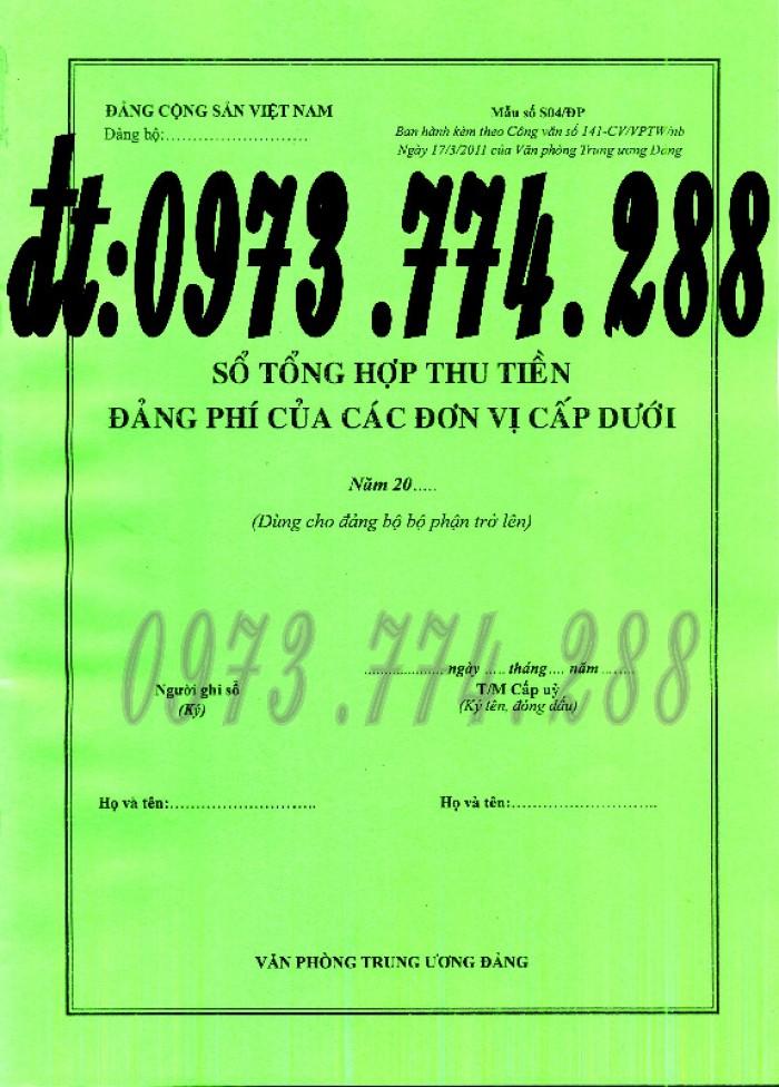 Cung cấp sổ giao nhận hồ sơ Đảng viên19