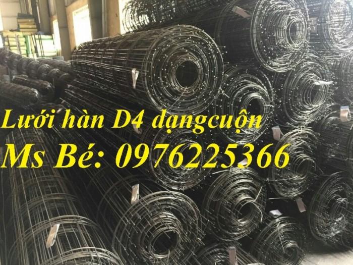 Lưới thép hàn D4 ô 50*50, 100*100, 150*150, 200*200 hàng có sẵn0