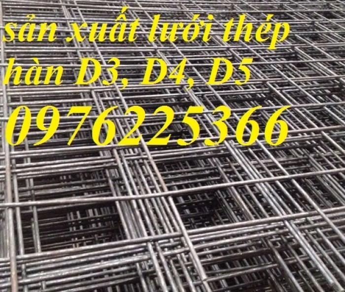 Lưới thép hàn D4 ô 50*50, 100*100, 150*150, 200*200 hàng có sẵn3